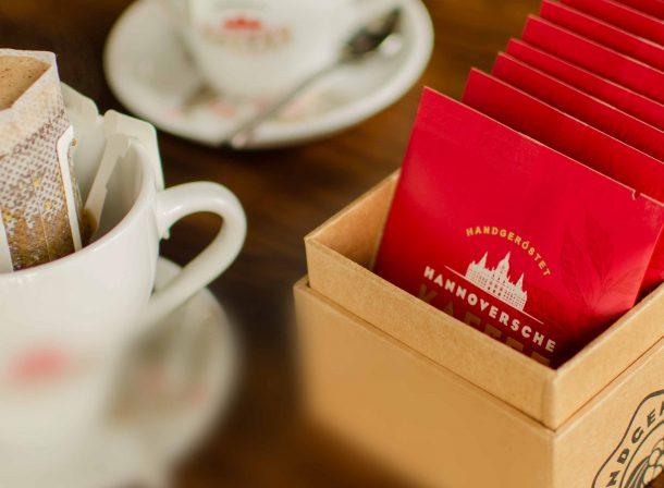 Hannoversche Kaffeemanufaktur im Hoflokal